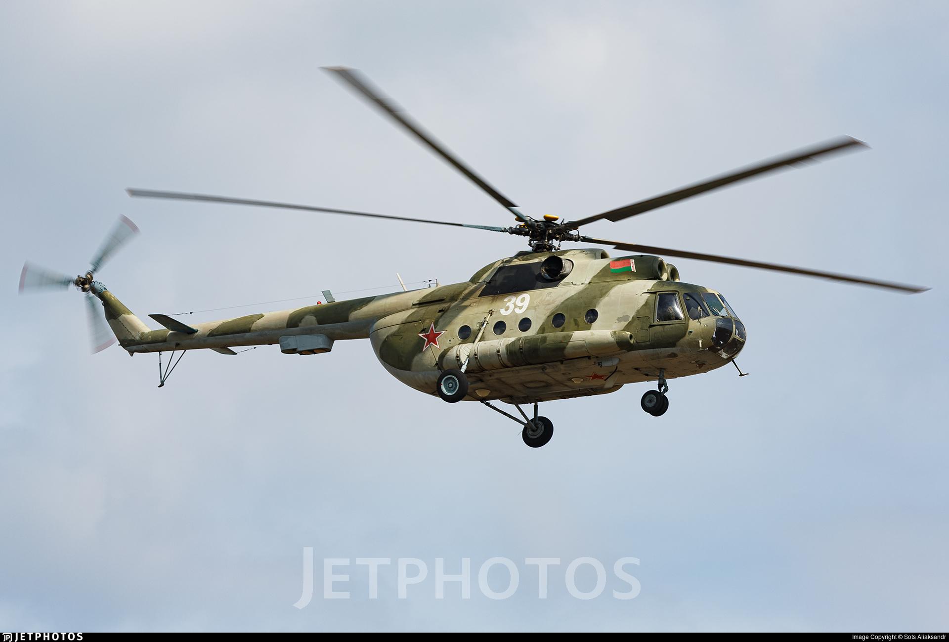 39 - Mil Mi-8TP Hip - Belarus - Air Force