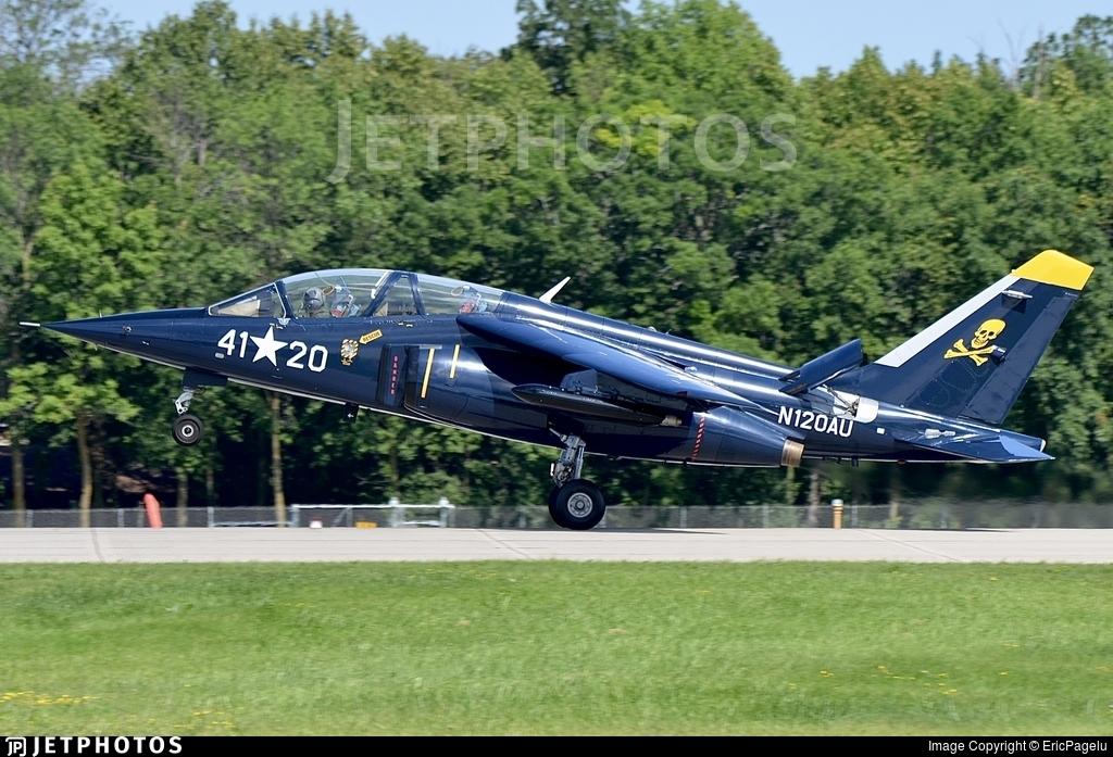 N120AU - Dassault-Breguet-Dornier Alpha Jet A - Private