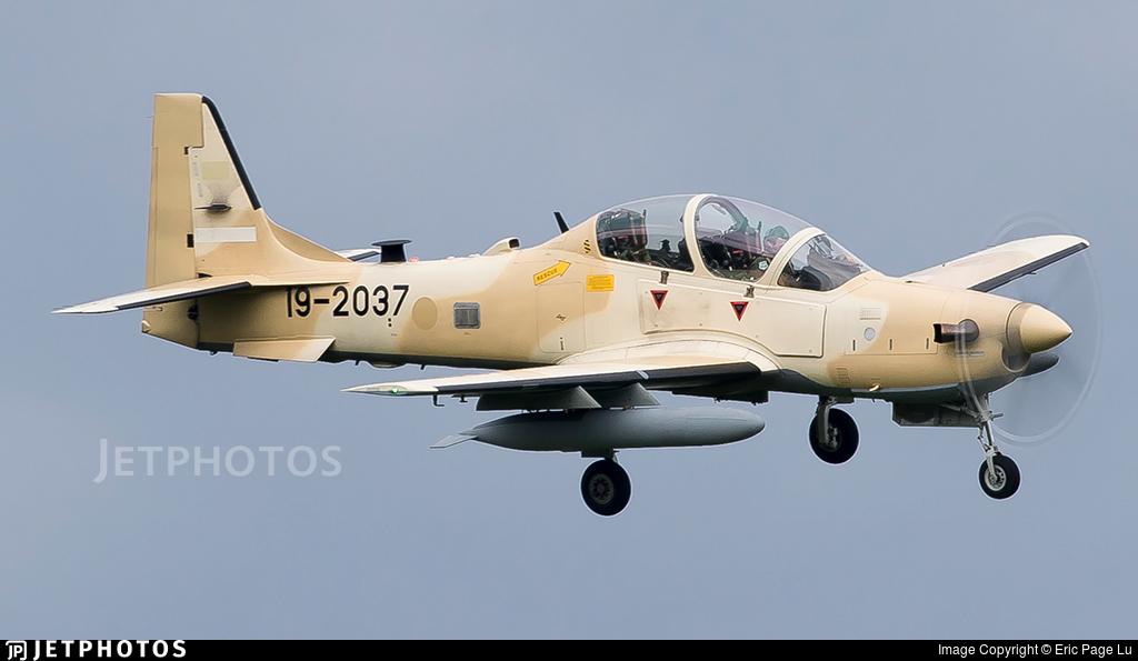 19-2037 - Embraer A-29B Super Tucano - United States - US Air Force (USAF)