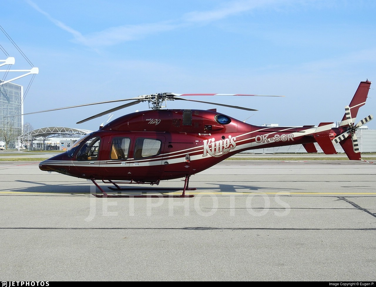OK-SGR - Bell 429 - Private