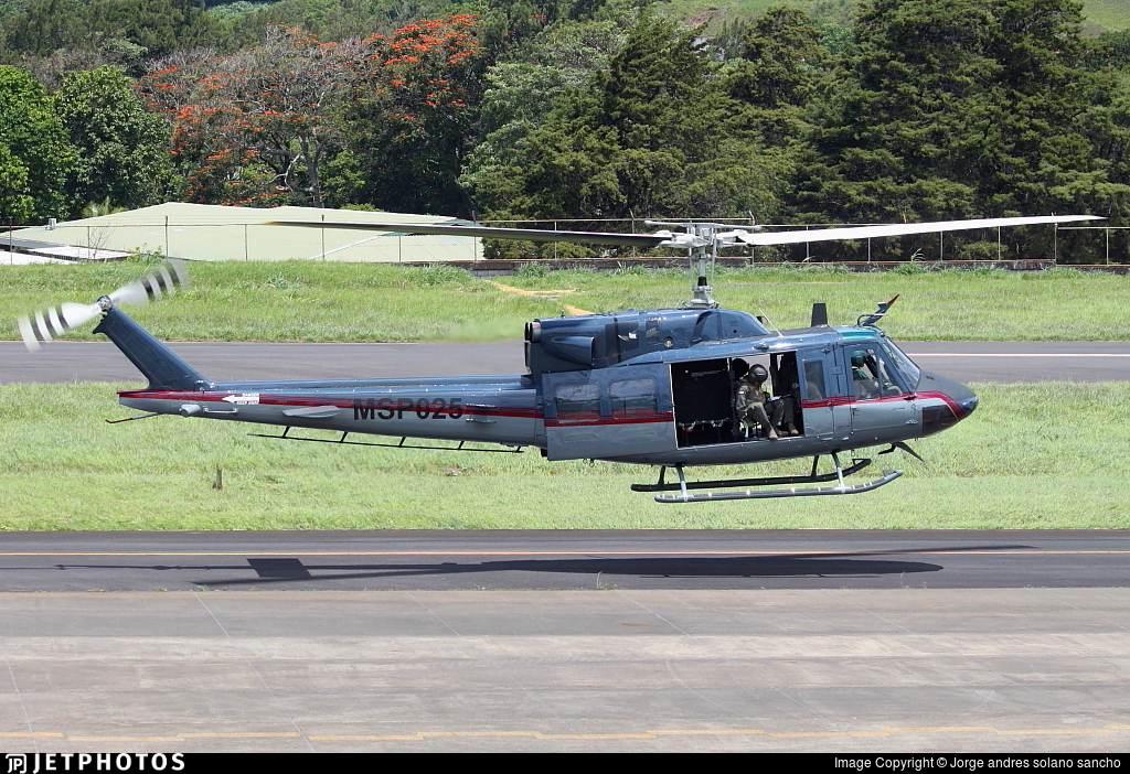 MSP025 - Bell UH-1N Iroquois - Costa Rica - Ministry of Public Security