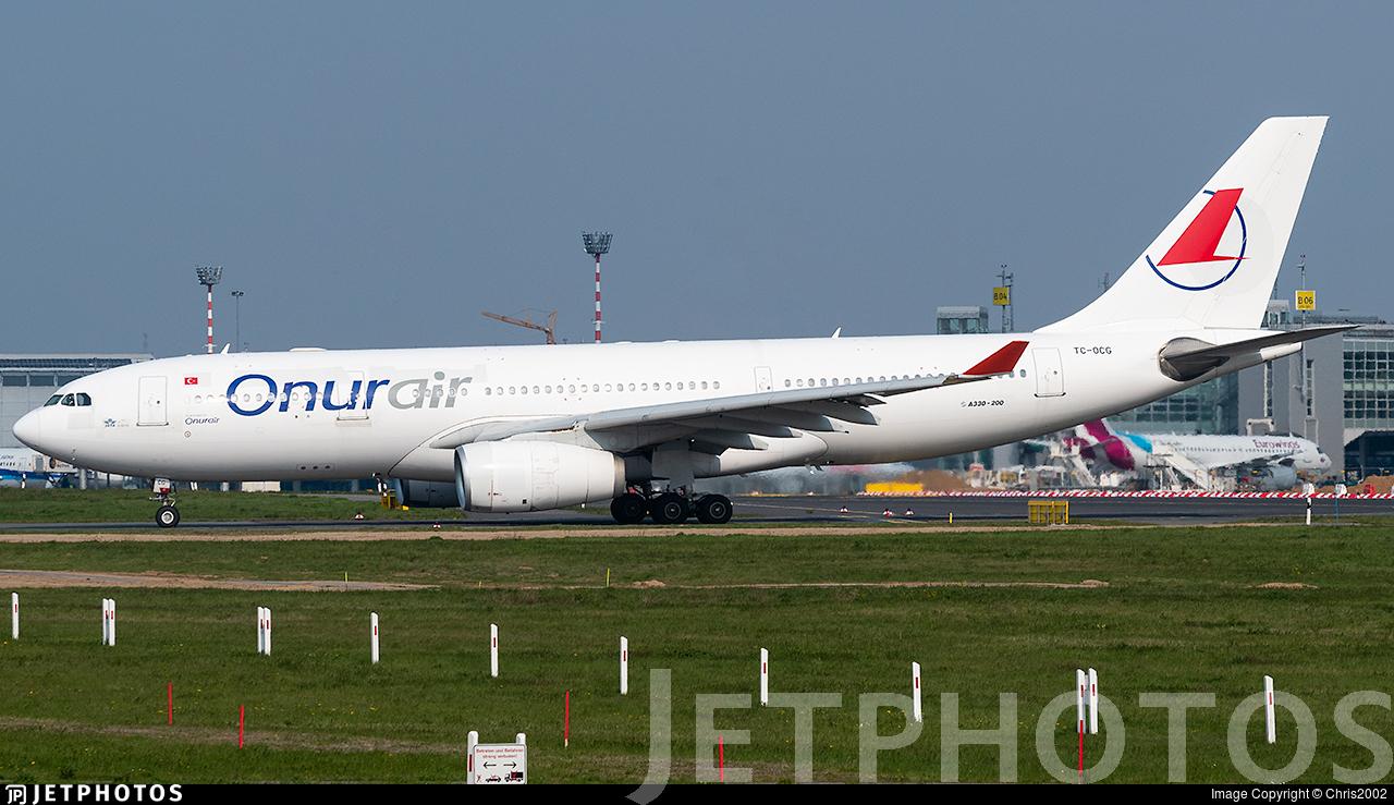 TC-OCG - Airbus A330-243 - Onur Air