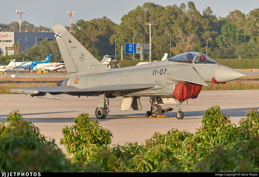 C.16-27 - Eurofighter Typhoon EF2000 - Spain - Air Force