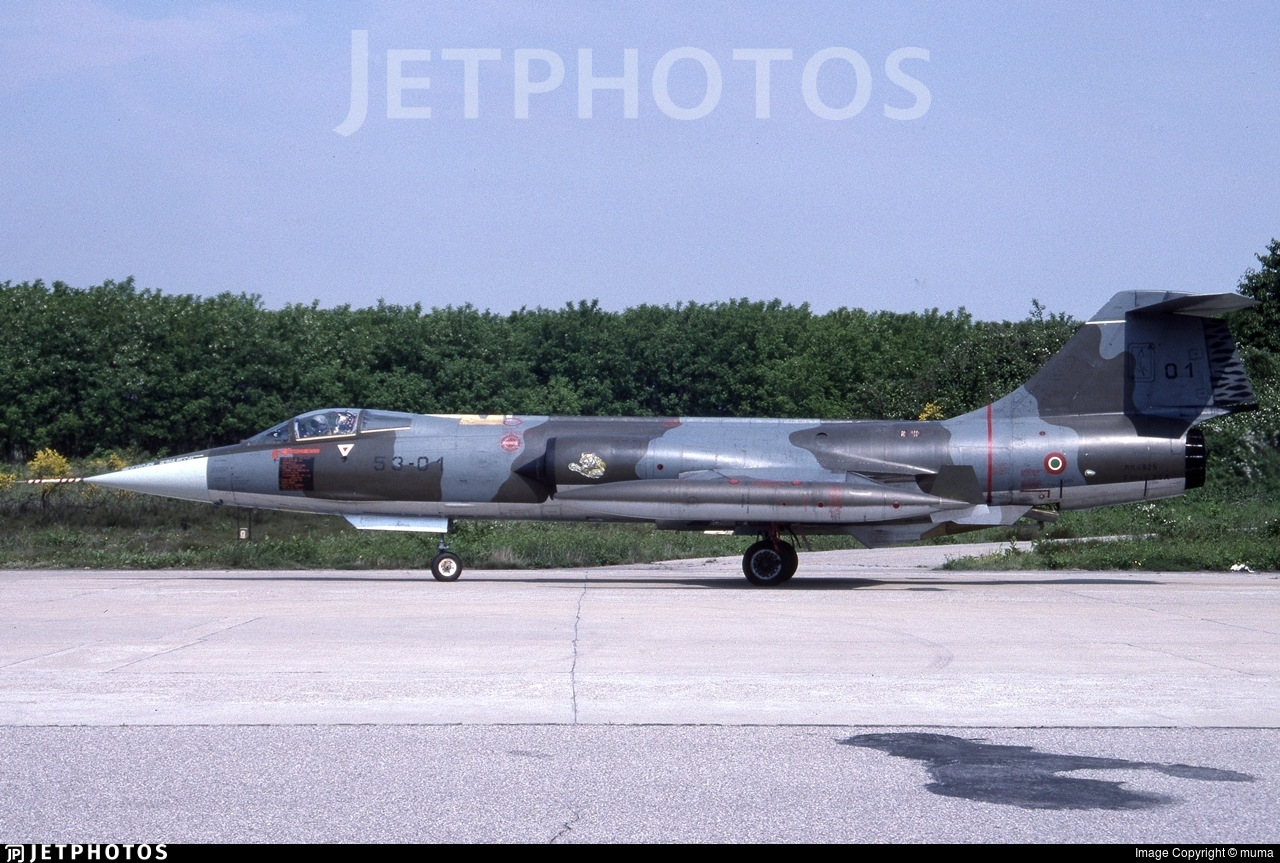 MM6925 - Lockheed F-104S ASA-M Starfighter - Italy - Air Force