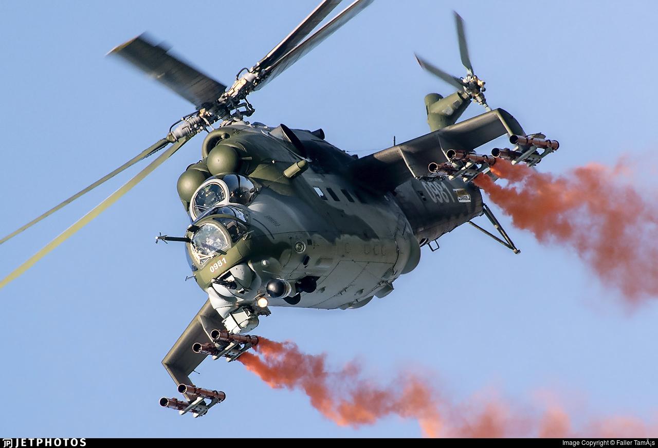 0981 - Mil Mi-24V Hind E - Czech Republic - Air Force
