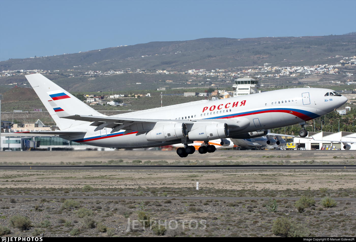 RA-96022 - Ilyushin IL-96-300PU - Rossiya - Special Flight Squadron