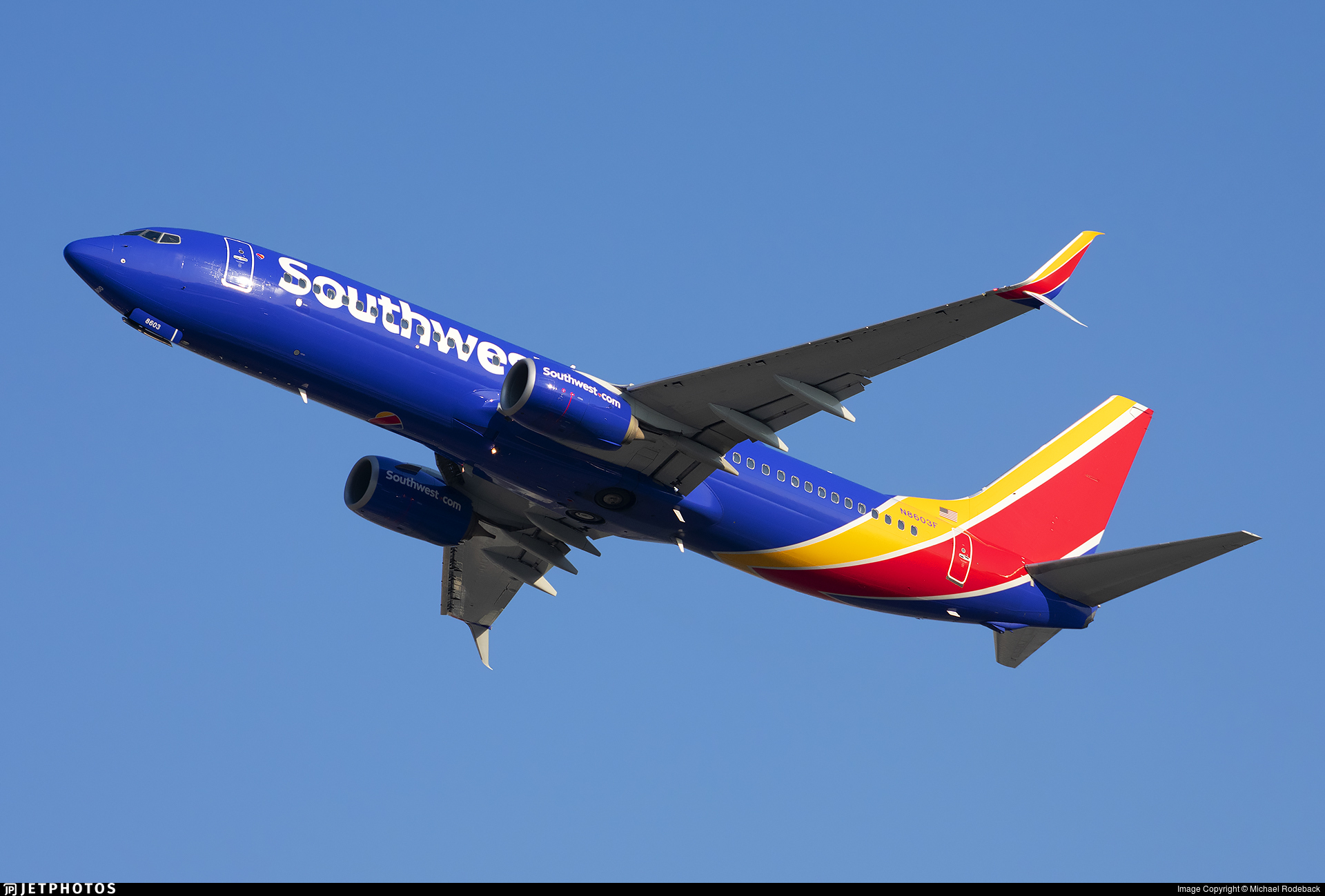 N8603F - Boeing 737-8H4 - Southwest Airlines