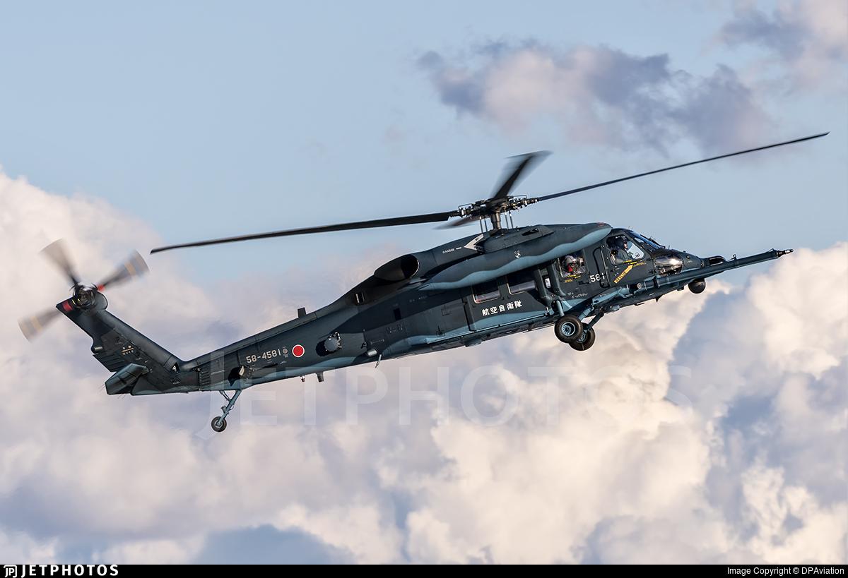 58-4581 - Mitsubishi UH-60J - Japan - Air Self Defence Force (JASDF)