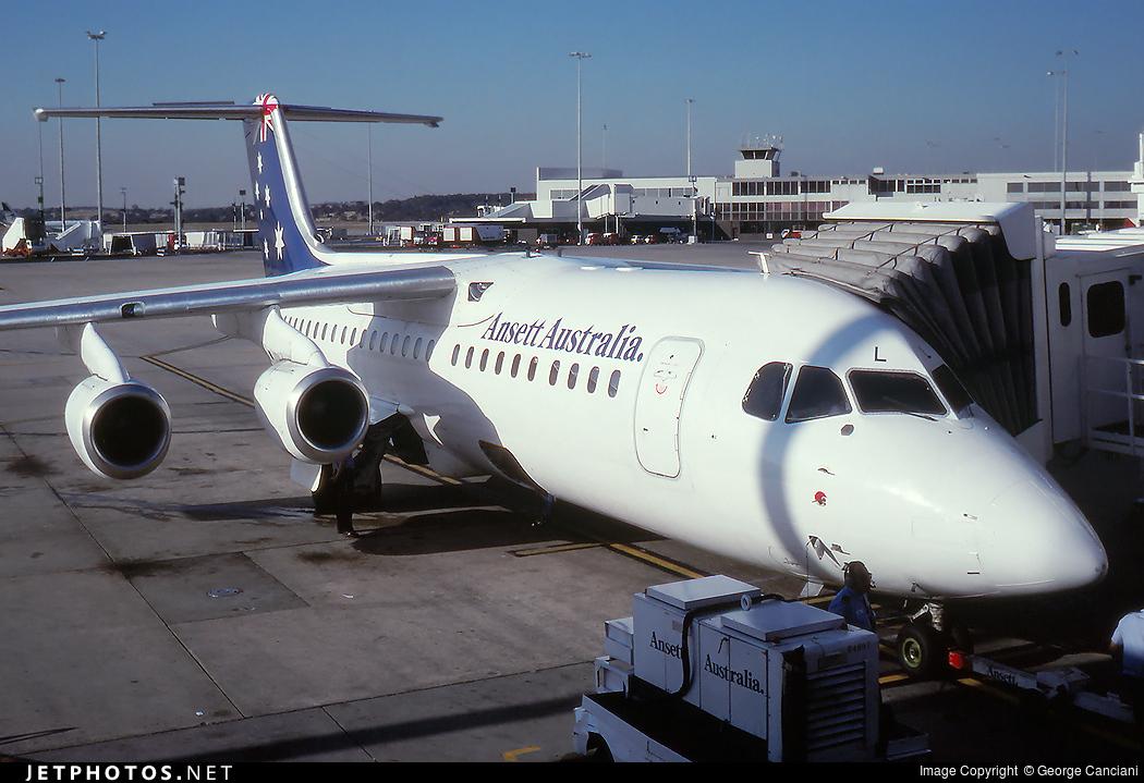 VH-EWL - British Aerospace BAe 146-300 - Ansett Australia