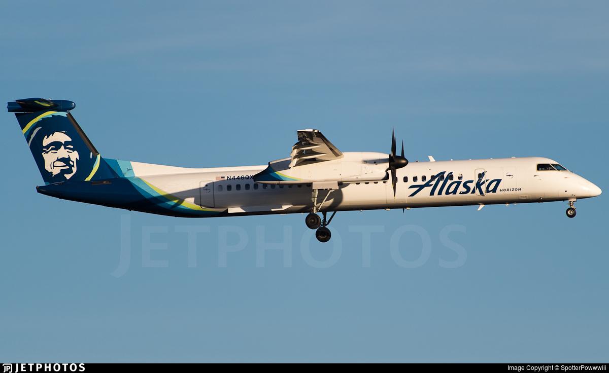 N448QX - Bombardier Dash 8-Q402 - Alaska Airlines (Horizon Air)