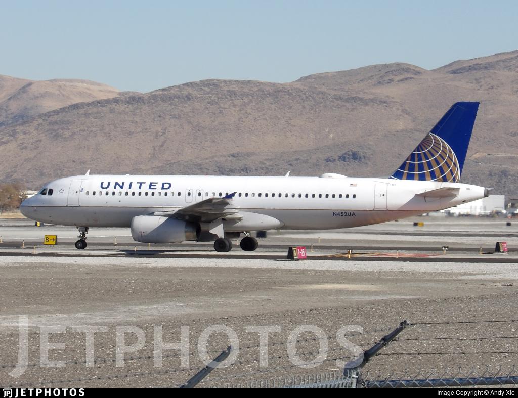 N452UA - Airbus A320-232 - United Airlines