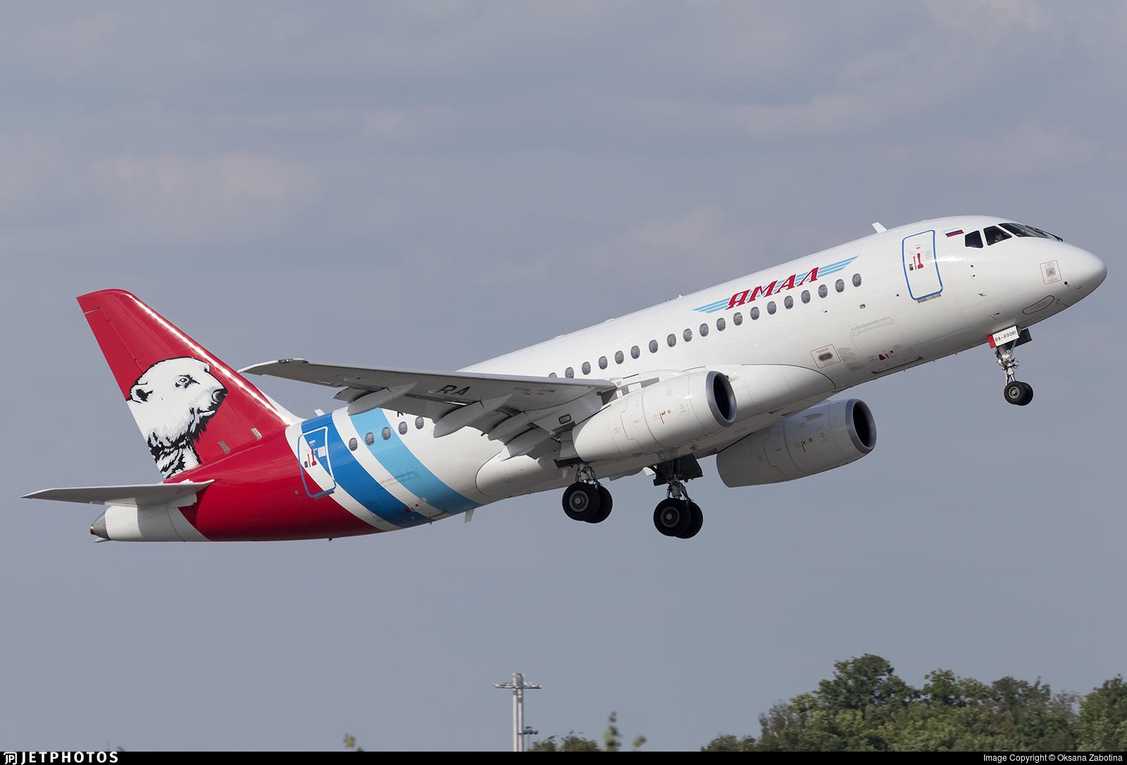 RA-89081 - Sukhoi Superjet 100-95LR - Yamal Airlines
