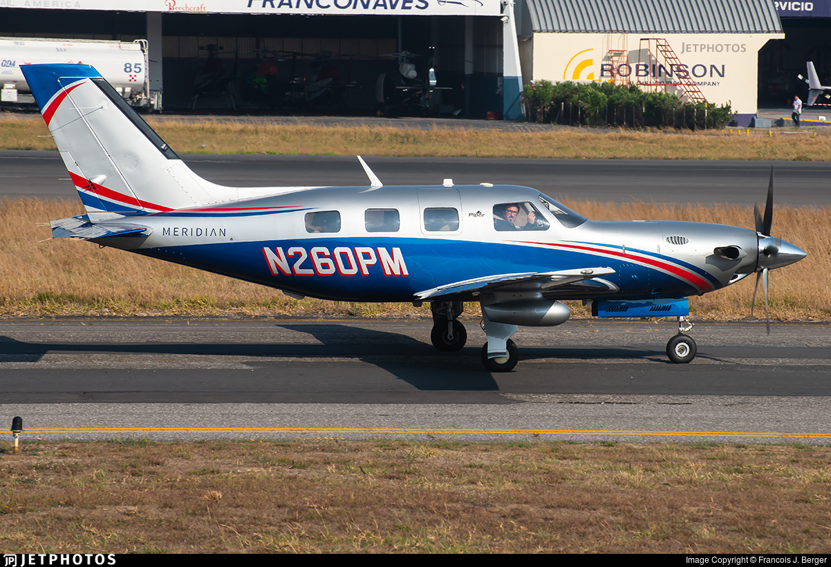 N260PM - Piper PA-46-500TP Malibu Meridian - Private