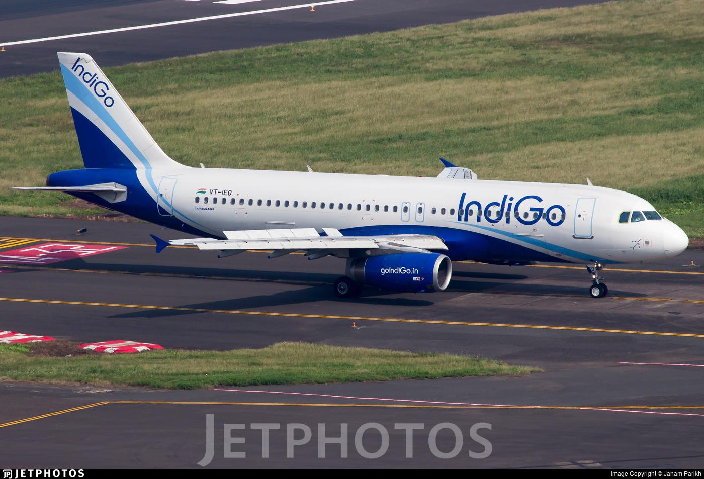 VT-IEO - Airbus A320-232 - IndiGo Airlines