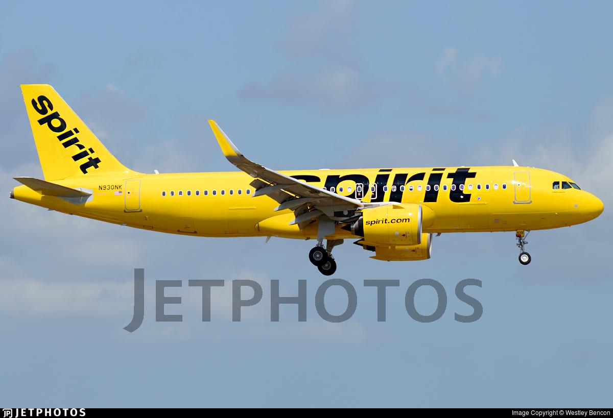 N930NK - Airbus A320-271N - Spirit Airlines