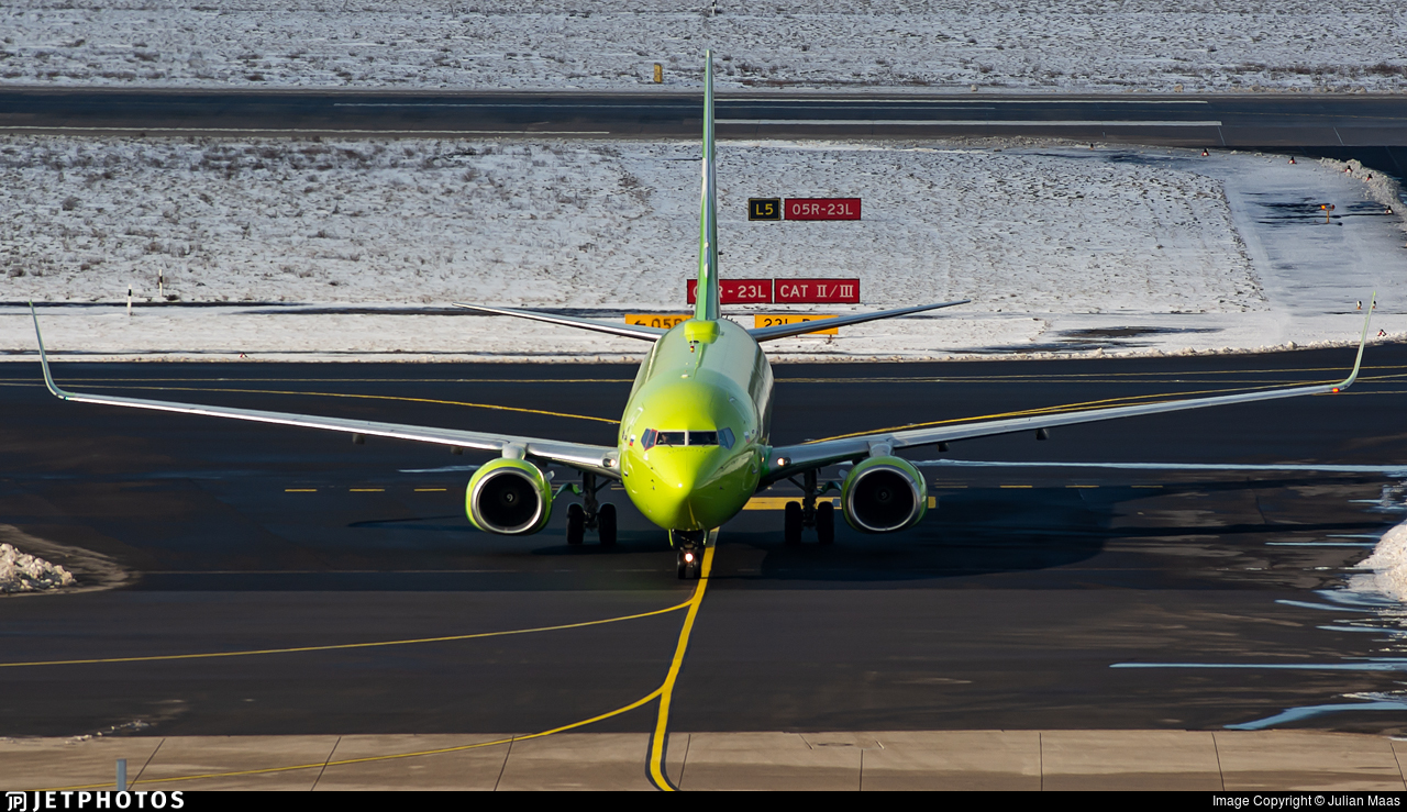 VP-BLE - Boeing 737-8Q8 - S7 Airlines