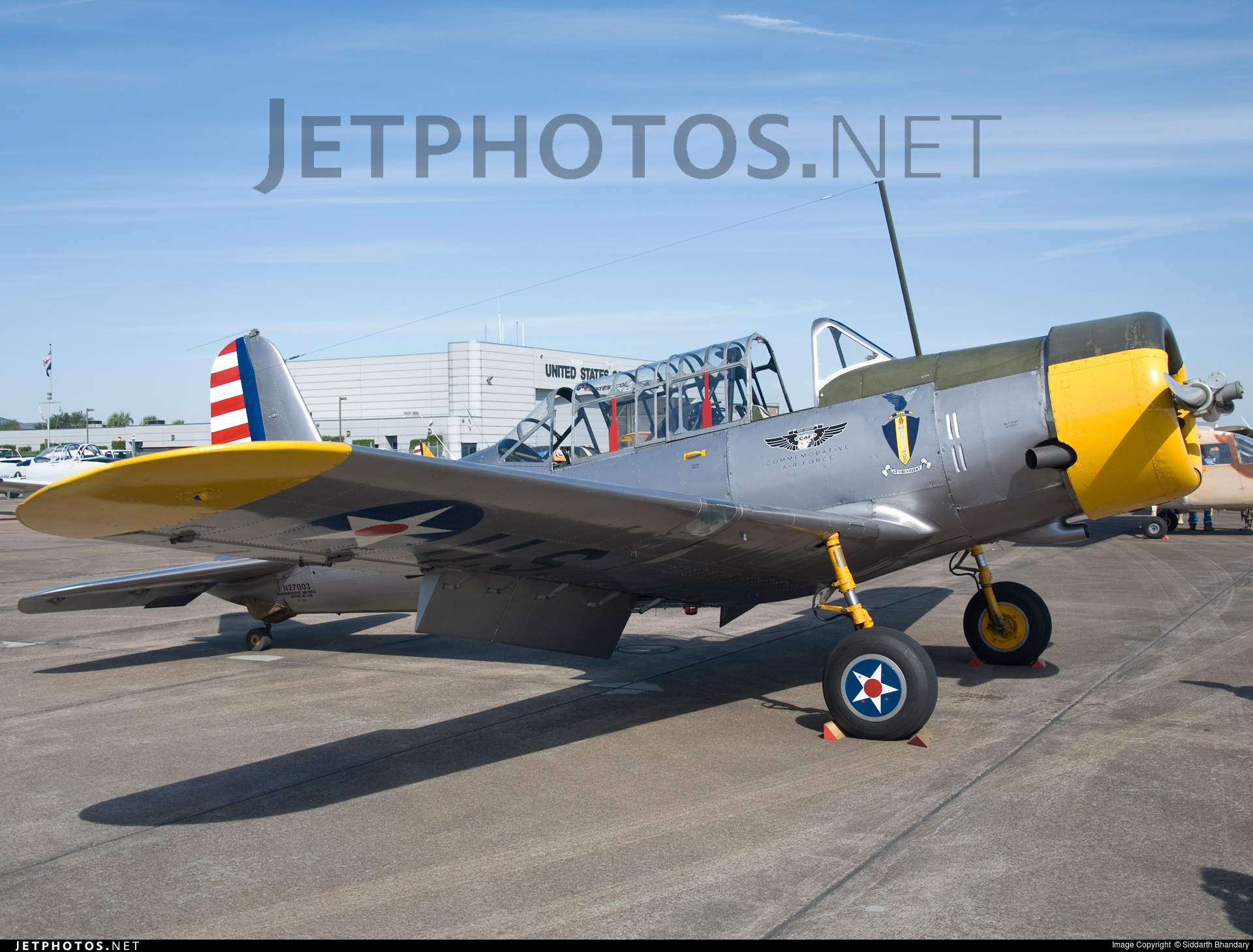 N27003 - Consolidated Vultee BT-13A - Commemorative Air Force