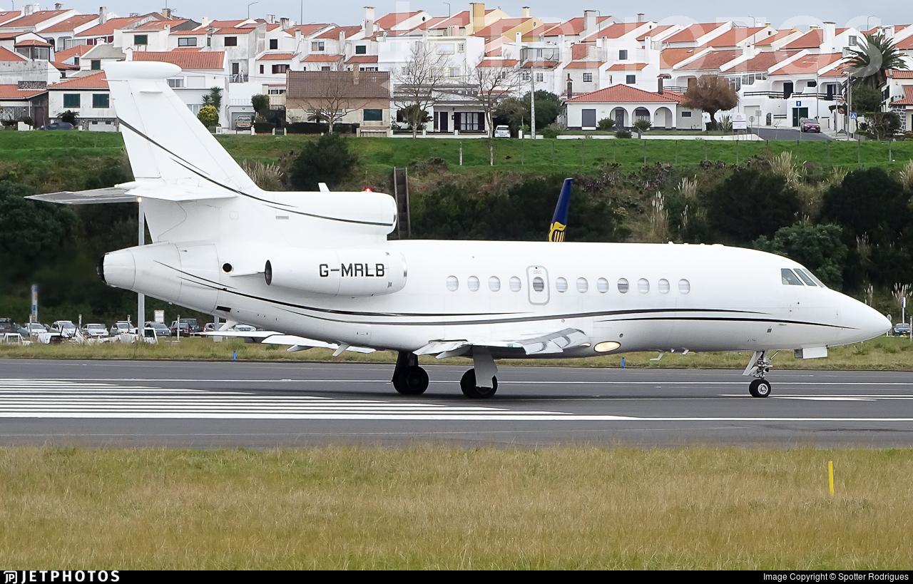 G-MRLB - Dassault Falcon 900B - Private
