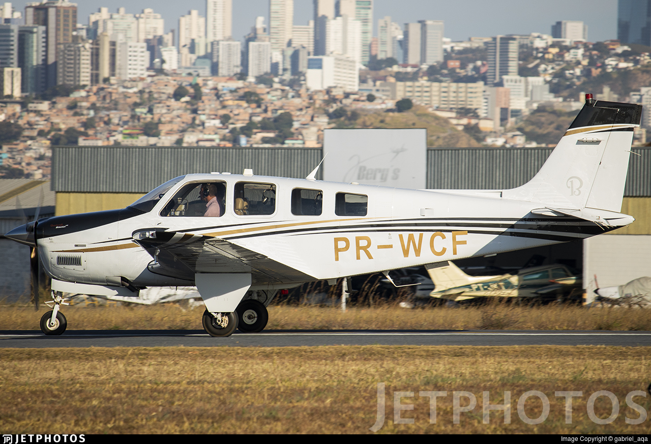 PR-WCF - Beechcraft G36 Bonanza - Private