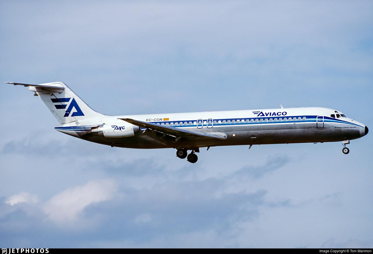 EC-CGN - McDonnell Douglas DC-9-32 - Aviaco