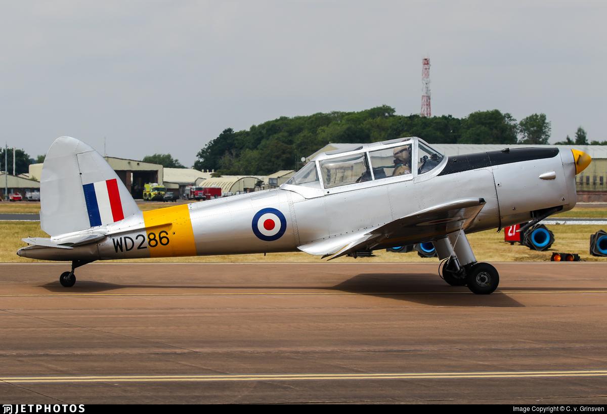 G-BBND - De Havilland Canada DHC-1 Chipmunk T.10 - Private