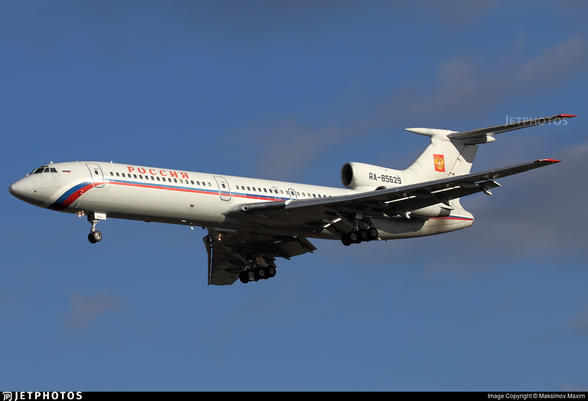 RA-85629 - Tupolev Tu-154M - Russia - State Transport Company
