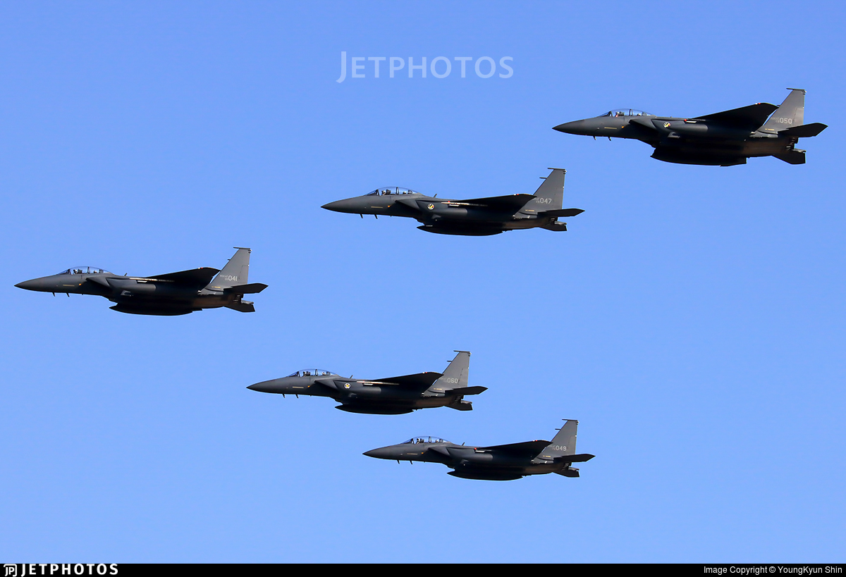 08-041 - McDonnell Douglas F-15K Slam Eagle - South Korea - Air Force