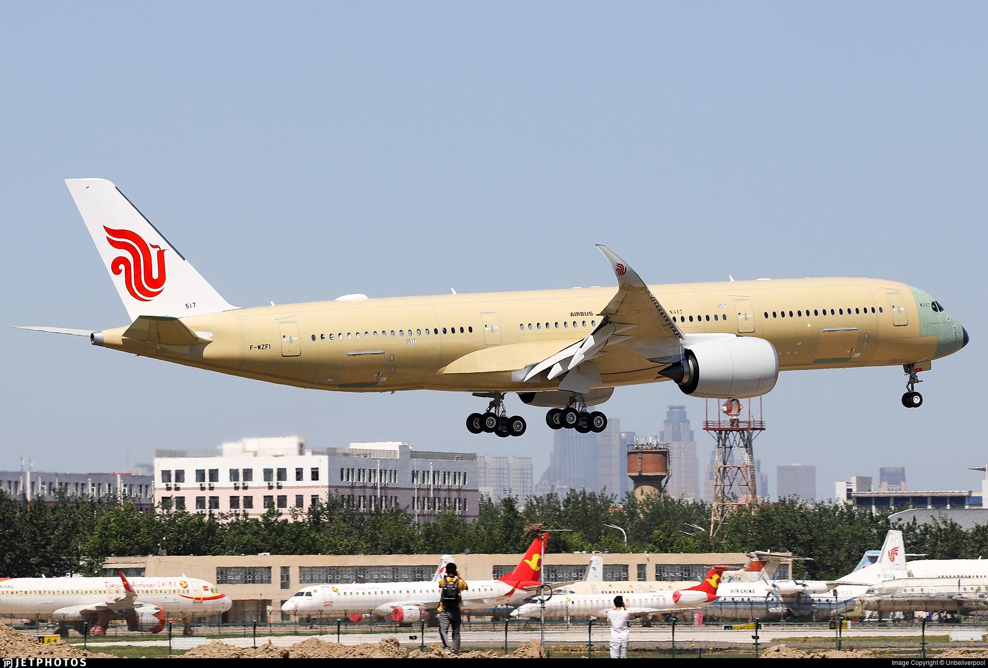 F-WZFI - Airbus A350-941 - Airbus Industrie