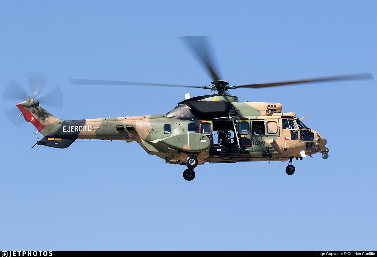 H228 - Eurocopter AS 532AL Cougar - Chile - Army