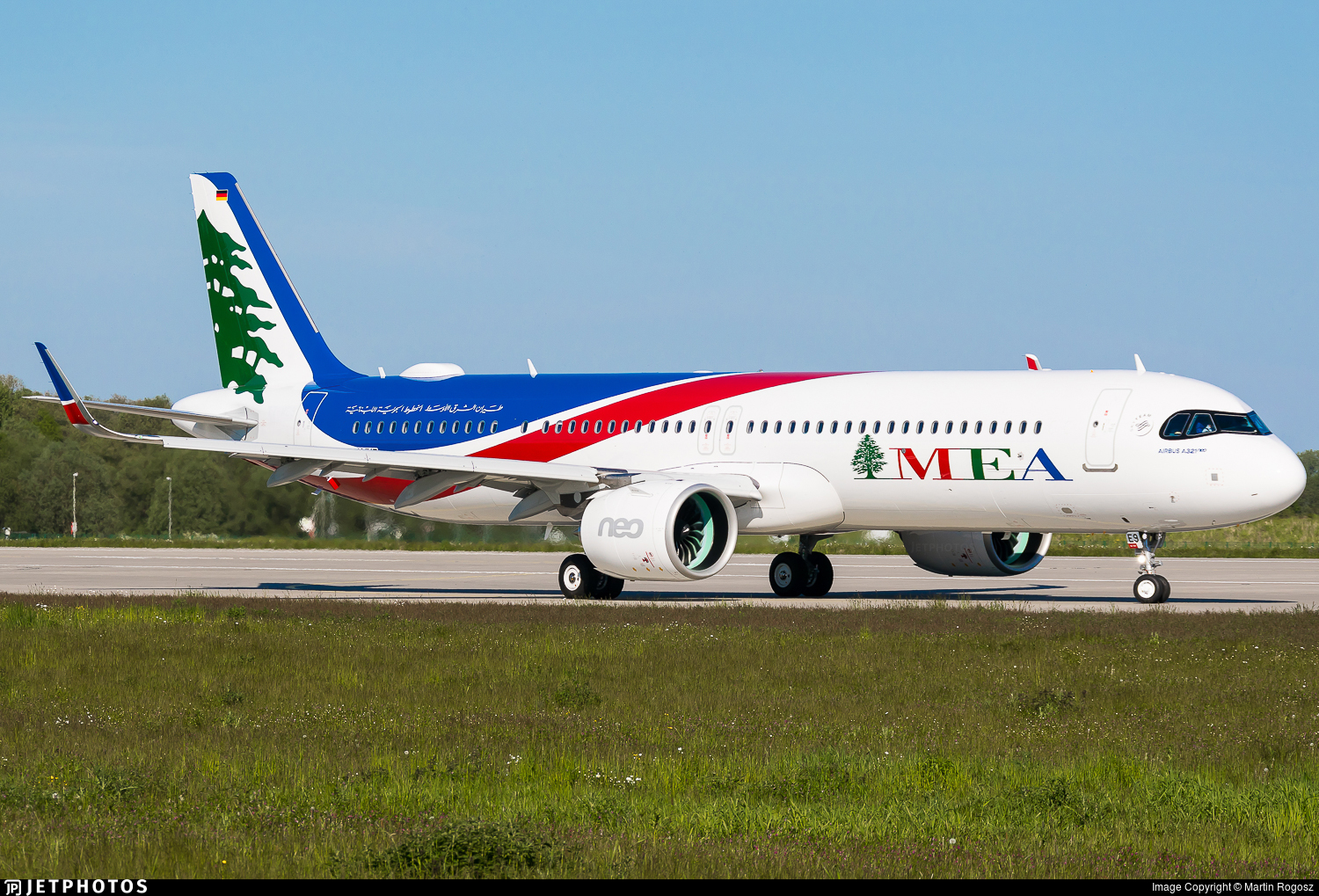 D-AVXP - Airbus A321-271NX - Middle East Airlines (MEA)