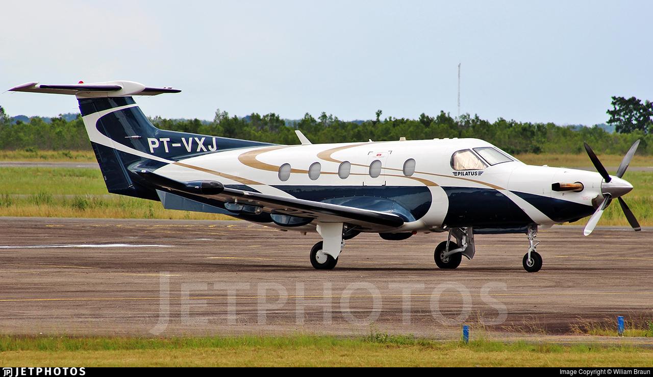 PT-VXJ - Pilatus PC-12/47E - Private