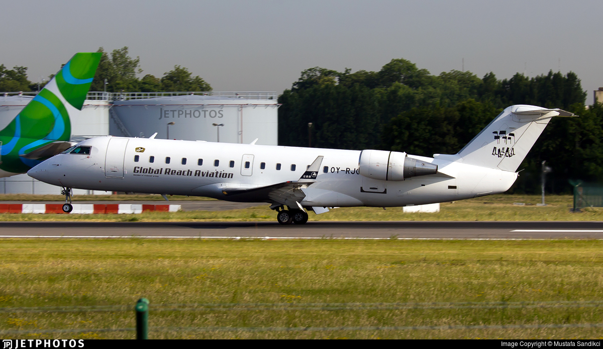 OY-RJC - Bombardier CRJ-200LR - BackBone Aviation