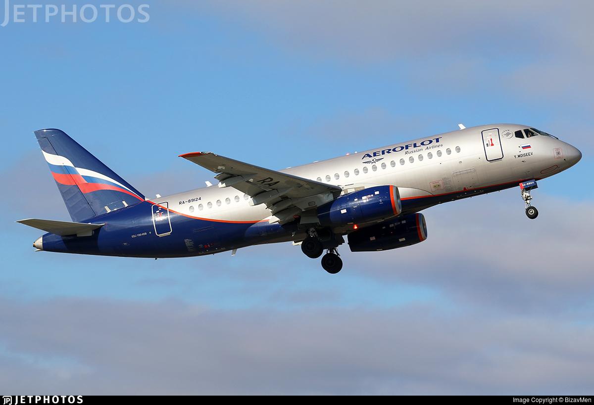 RA-89124 - Sukhoi Superjet 100-95B - Aeroflot