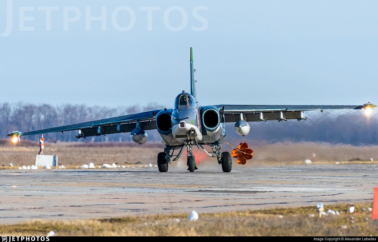 RF-93885 - Sukhoi Su-25SM Frogfoot - Russia - Air Force