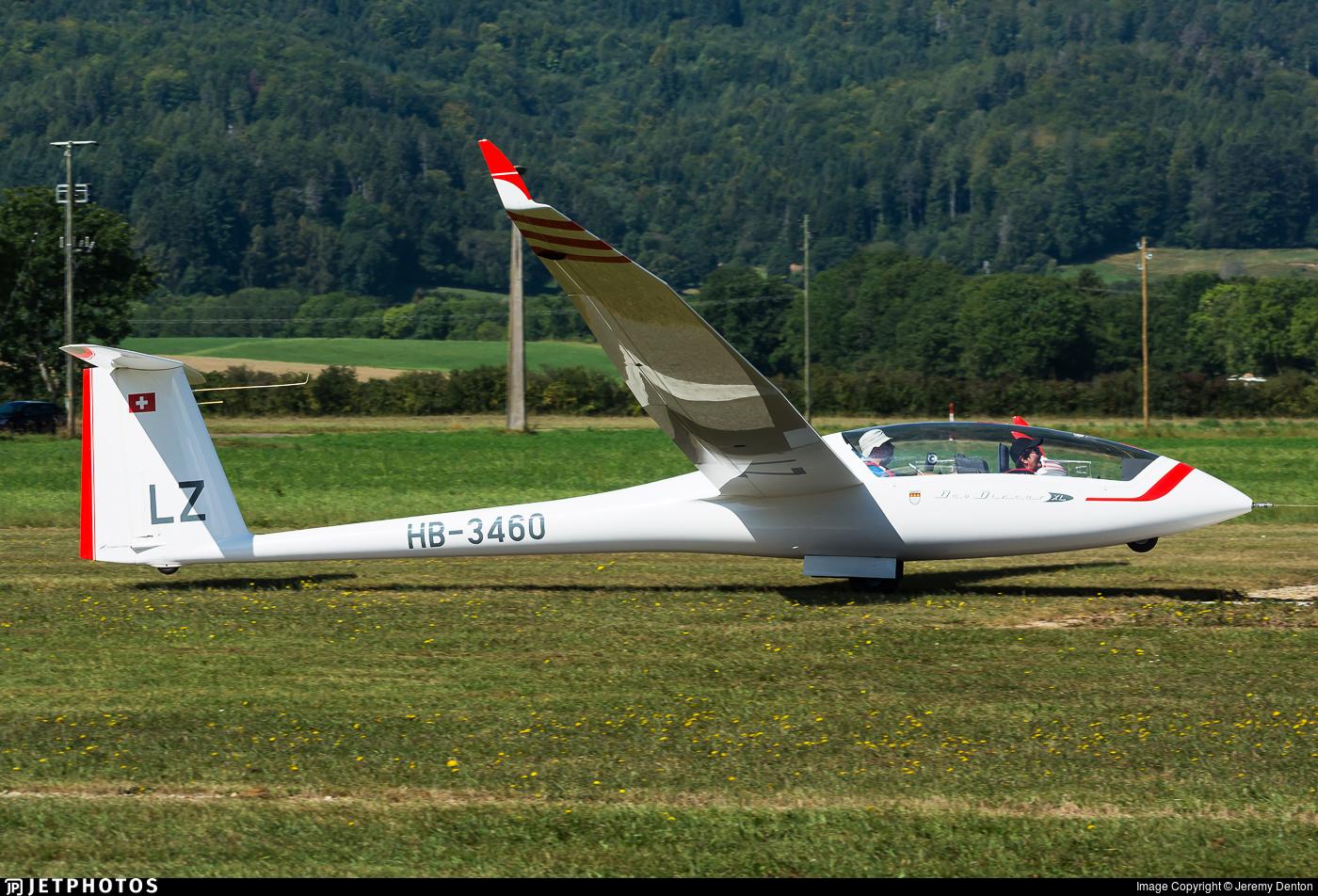 HB-3460 - Schempp-Hirth Duo Discus XL - Groupe Genevois de vol à voile de Montricher