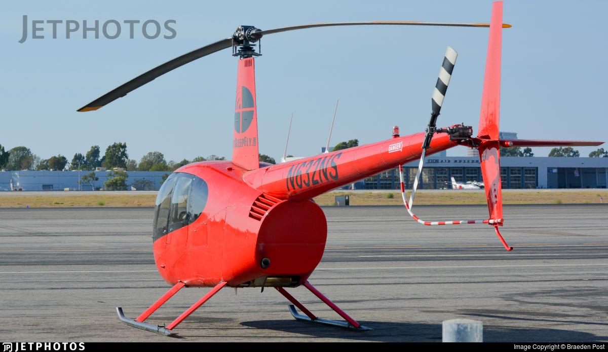 N632NS - Robinson R44 Raven II - Control Tower