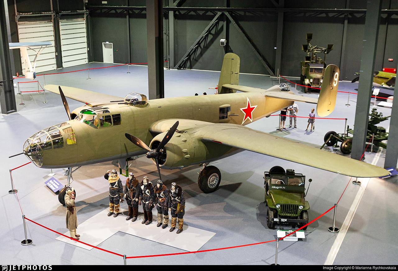 9 - North American B-25J Mitchell - Soviet Union - Air Force