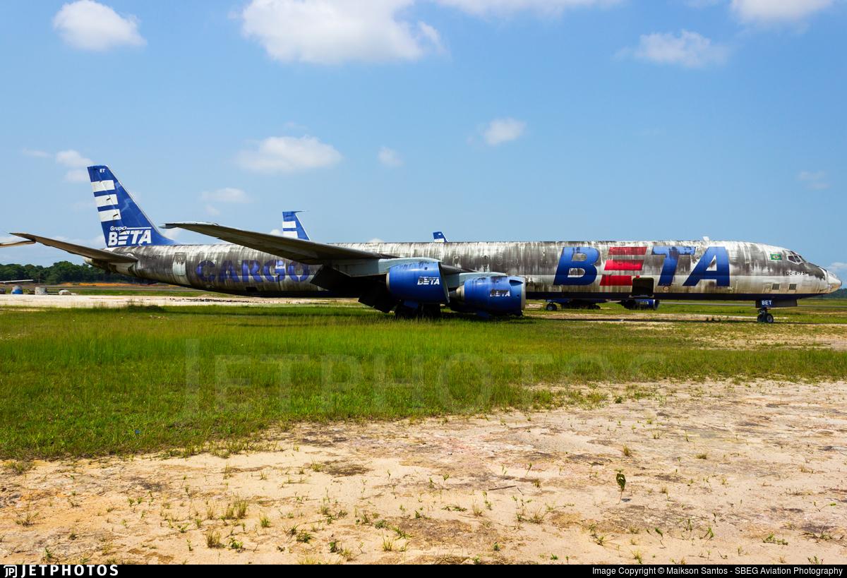 PP-BET   Douglas DC-8-73(CF)   BETA - Brazilian Express Transportes