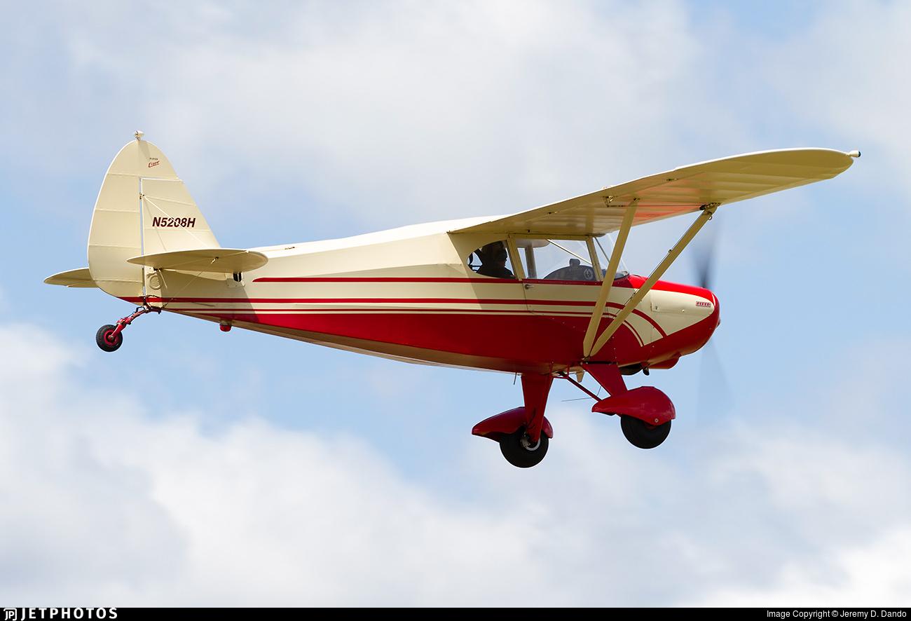N5208H - Piper PA-16 Clipper - Private