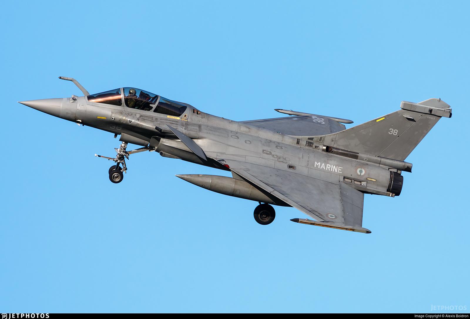 38 - Dassault Rafale M - France - Navy