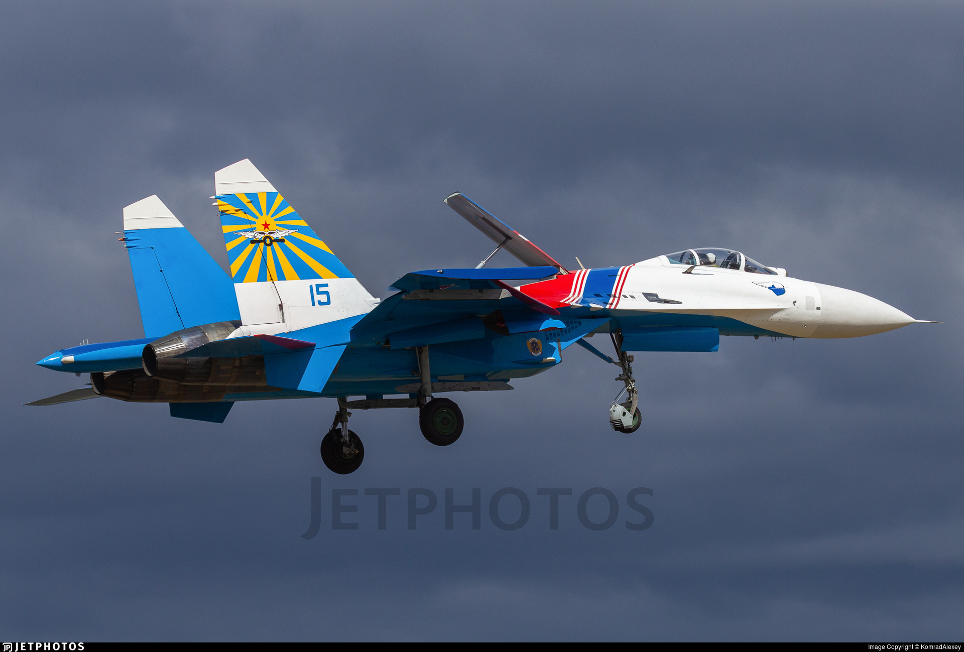 15 - Sukhoi Su-27 Flanker - Russia - Air Force