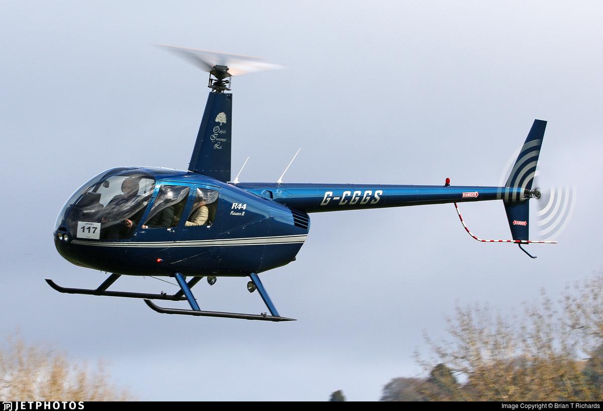 G-CGGS - Robinson R44 Raven II - Private