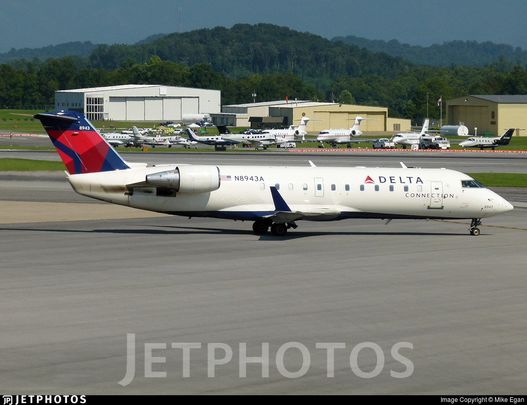N8943A - Bombardier CRJ-200LR - Delta Connection (Endeavor Air)