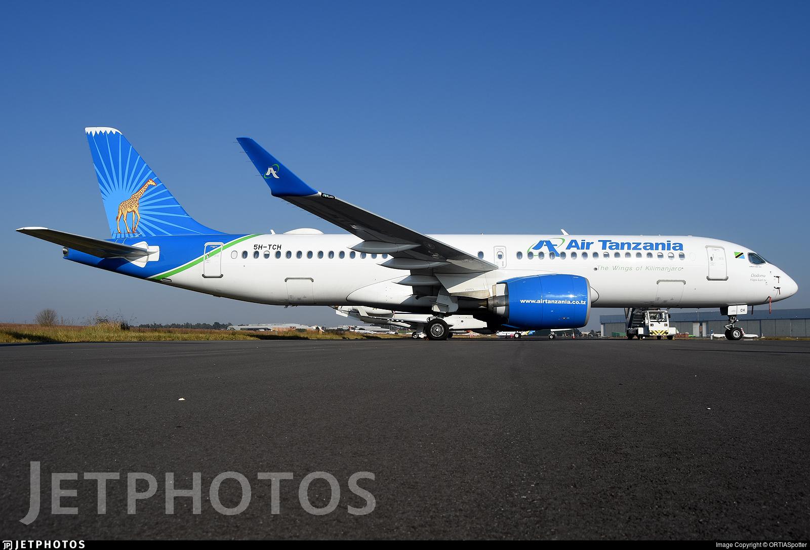 5H-TCH - Airbus A220-371 - Air Tanzania