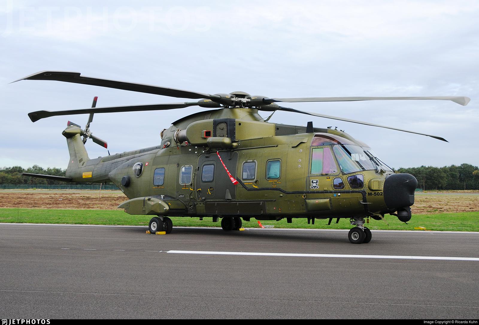 M-502 - Agusta-Westland EH-101 Merlin Mk.512 - Denmark - Air Force