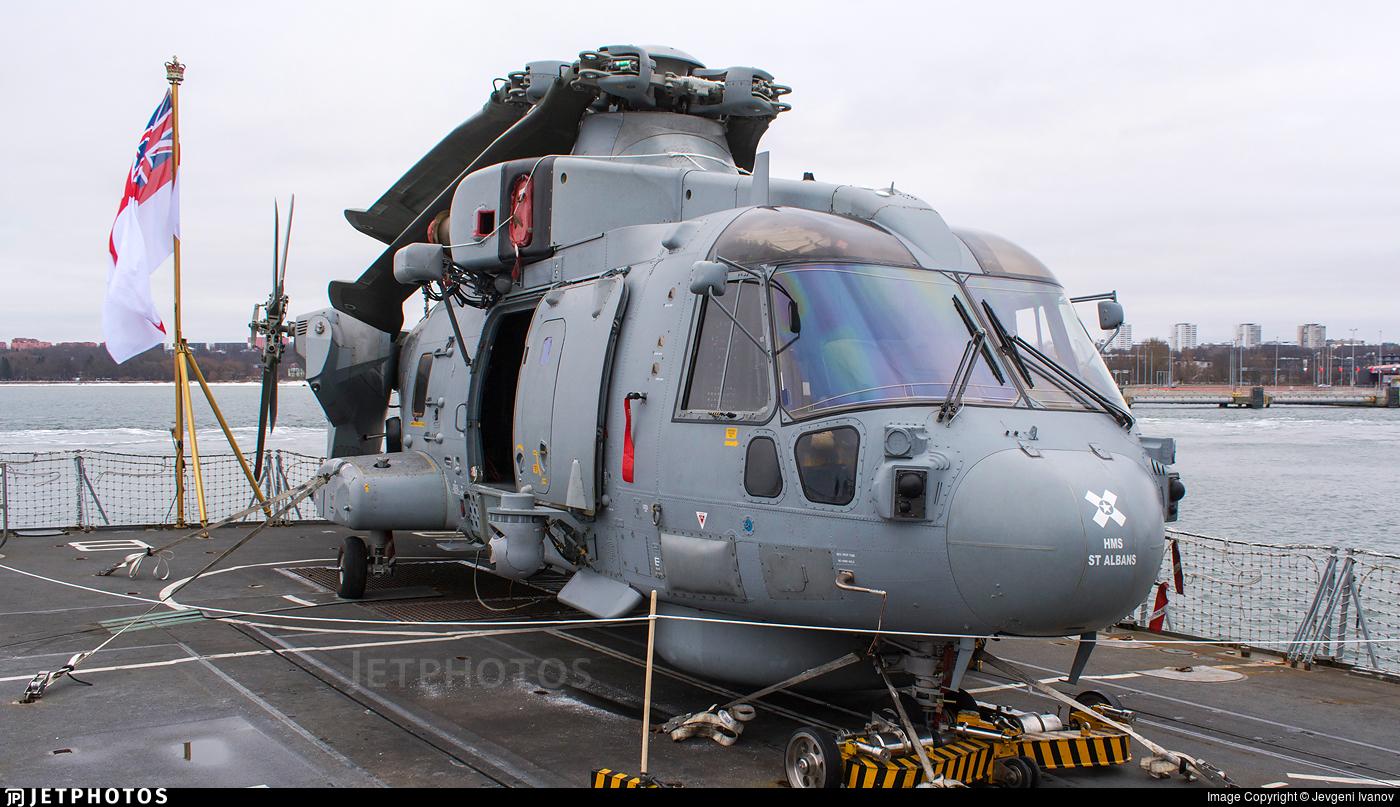 ZH845 - Agusta-Westland Merlin HM.2 - United Kingdom - Royal Navy