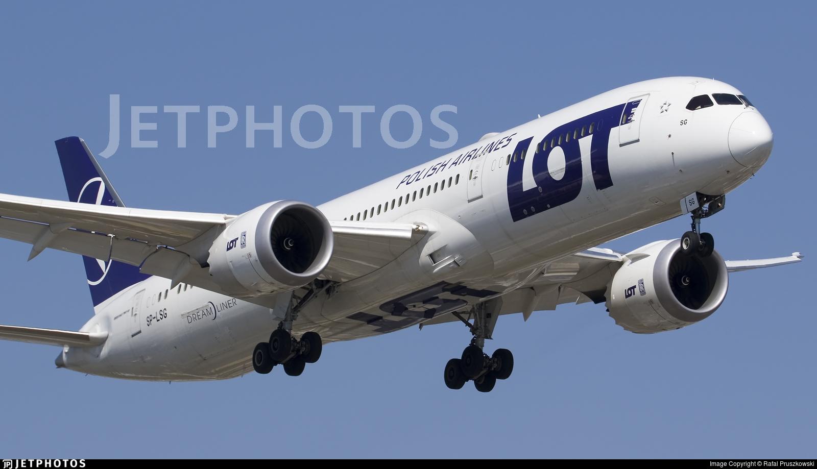SP-LSG - Boeing 787-9 Dreamliner - LOT Polish Airlines