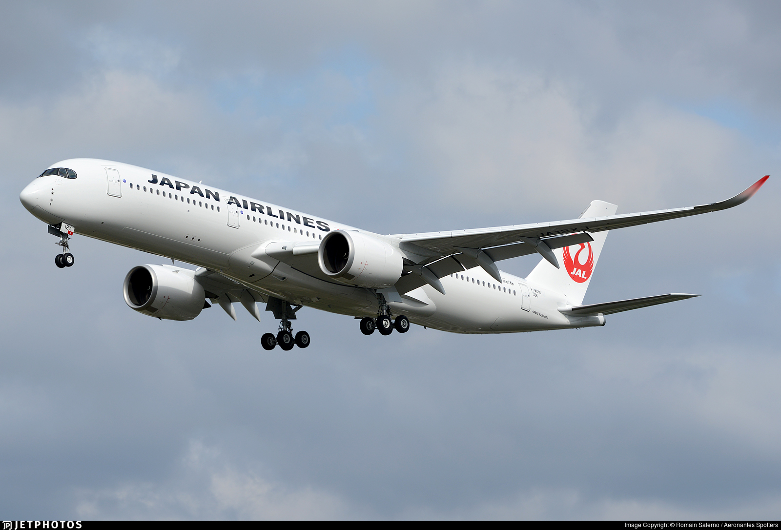 F-WZHG - Airbus A350-941 - Japan Airlines (JAL)