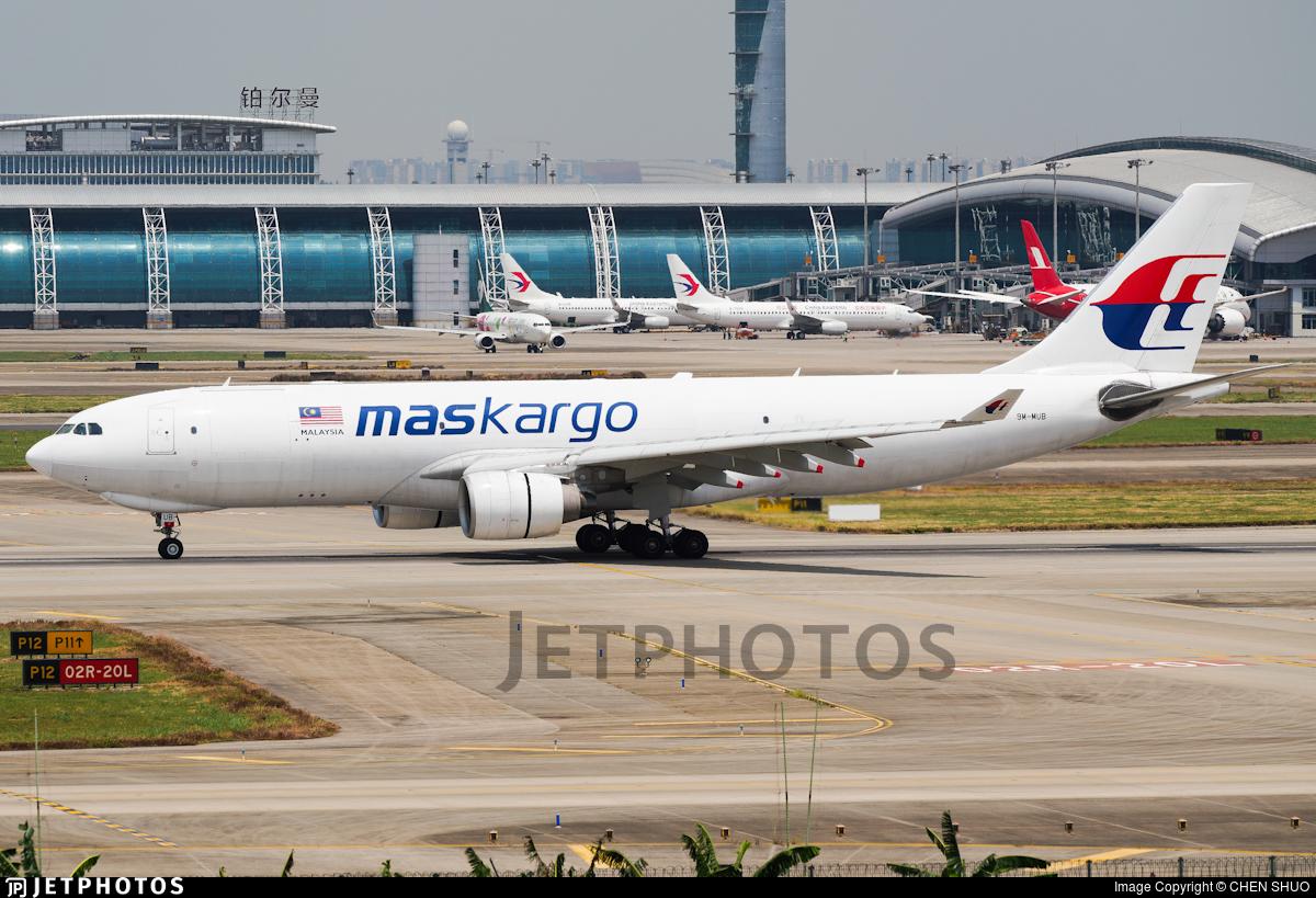 9M-MUB - Airbus A330-223F - MASkargo