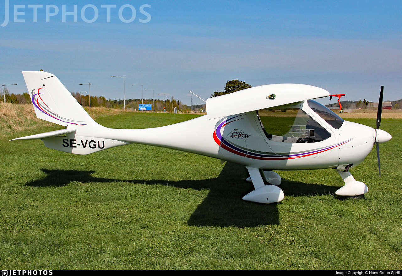 SE-VGU - Flight Design CT-SW - Private
